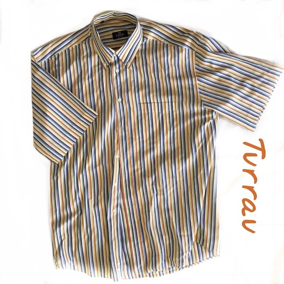 Turrau Other - Turrau Made in Spain men's Short Sleeve Short Sz L